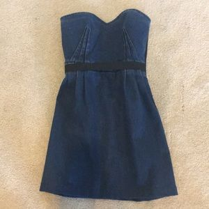 Cute denim strapless Lanvin X Acme Dress Size 2